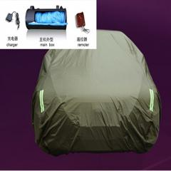 Outdoor automatic car covers