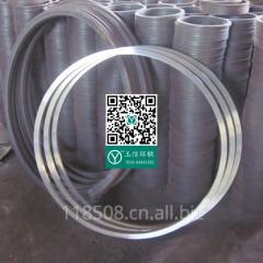 锻造厂家锻打加工 通风管道支撑圈锻造生产加工 合金钢 强度高