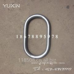 厂家供应椭圆环锻件 锻造加工 合金材质 强力环 梨形环