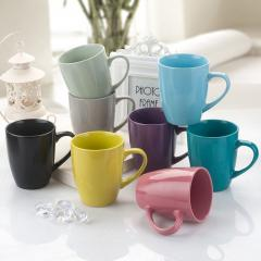 Wholesale Custom LOGO Creative Colorful Glaze Mugs