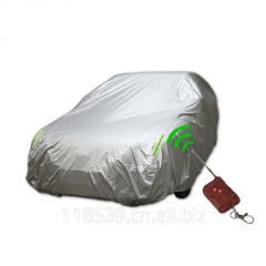Automatic fireproof car protection cover