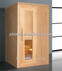 2 People Prefab Homes Steam Wooden Sauna Room