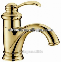 2014 China fasion polished brass Golden Bathroom