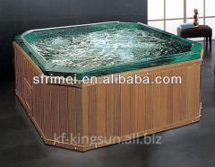 Acrylic Whirlpool Massage Outdoor Spa Bath