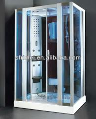 Bathroom Fashionable Acrylic And Aluminium Steam