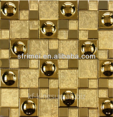 Decorative Material High End Mosaics Tiles Gold