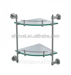 Double Deck Glass Platform--Glass Bathroom Corner