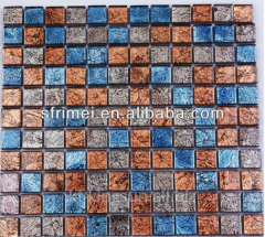 Glass mosaics on the grid