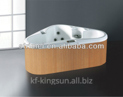 Outdoor1730mm Best Acrylic Square Yellow Massage