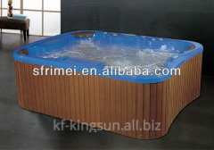 Square Freestanding Large Outdoor Hot Spa