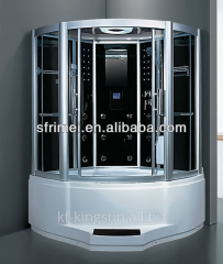 Tempered Glass Steam Sauna Room Shower Cabin With