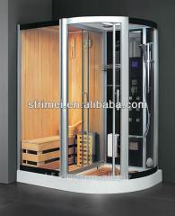 Tempered Glass Steam Shower Room Sauna And Steam