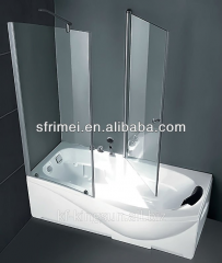 Unique Design Freestanding White Rectangle Acrylic