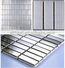 Wall Mosaics Tile Stainless Steel&Ceramic