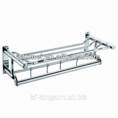 304 Stainless steel living room corner shelf for
