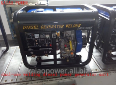 KDE6500EW Diesel welding generator for soilder and