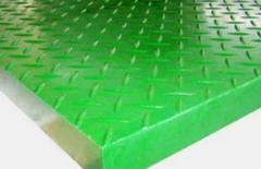 Решетчатые настилы из стеклопластика (Сплошная поверхность)