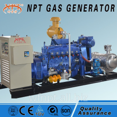 ISO CE approved LPG generator
