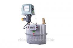 Industrial IC card diaphragm gas meter