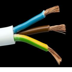 PVC insulated round flexible cable Cu/CCA /PVC/PVC