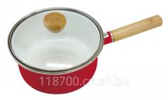 搪瓷器皿,搪瓷餐具,18cm搪瓷单柄直形锅锅