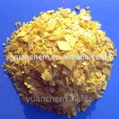 For sale Sodium Sulfide Na2S,  Yellow Flakes
