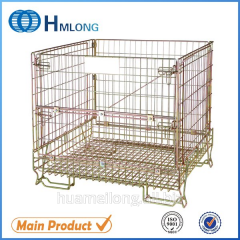 F-5 Warehouse collapsible wire mesh storage container