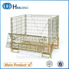F-16 Wire galvanized metal container  cage