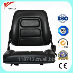 Kobelco PVC cover fully flat seat for mini excavator garden tool