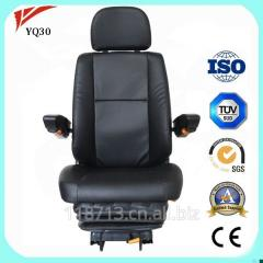 Comfortable gas suspension bulldozer excavator seat