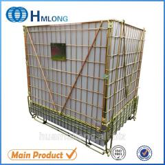 F-22 Galvanized storage steel mesh warehouse cage