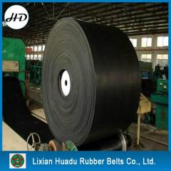 Supply rubber conveyor belt