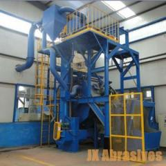 Rubber & Steel Belt Tumblast Machine