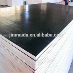 18mm waterproof melamine glue film faced plywood