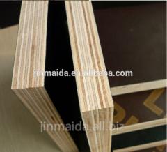 Poplar core brown film faced waterproof plywood