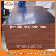 4*8ft black/brown waterproof film faced plywood