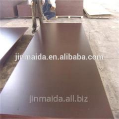 Brow waterproof adhesive film faced plywood 13mm