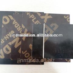 Hot sanding waterproof phenolic film faced plywood