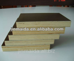 Cheap 1220*2440 waterproof film faced plywood with