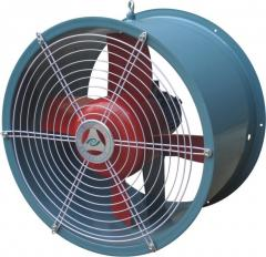 Electric motors for axial fans