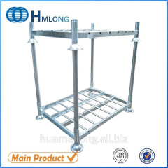 M-1 Industrial  Warehouse foldable metal stacking rack system