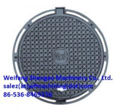 Heavy Duty Ductile Iron Manhole Covers with EN124