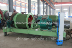 Winches for mines of special constructions