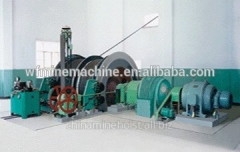 Machines lifting multirope for mines