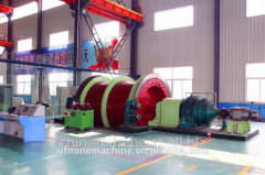 Electric drives for mine lifts