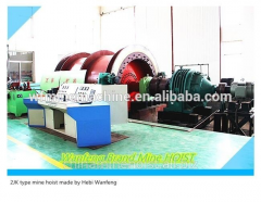 Electric mining machinery hoist system used in