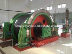 Winches mining haulage-drift