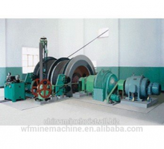 Factory price double drum mining elevator made in