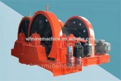 Winches for mines sinking