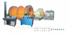 Double drums electronic control mine hoist made in